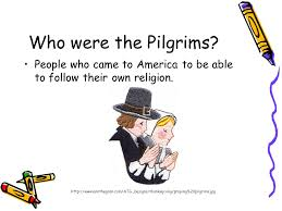 the pilgrims and the thanksgiving ppt