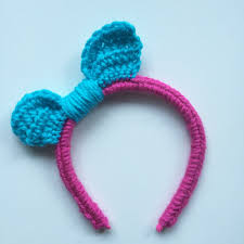 crochet hair bands explore my etsy crochet bow headbands new product
