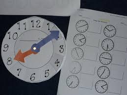 2nd grade math clock work u0026 other math work homeschool den