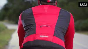 softshell cycling jacket oxygen windstopper soft shell jacket by gore bike wear youtube