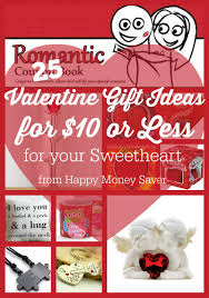 25 valentines gift ideas for your sweetheart under 10