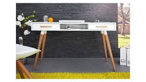 bureau design exceptionnel bureau design scandinave elin chene blanc mat beraue