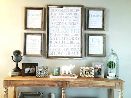 home interiors and gifts framed farmhouse entry table decor gallery wall print package home