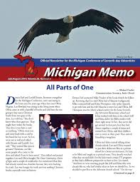 michigan memo 2014 july august by michigan conference of seventh