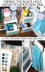 best under sink organizer the best ways to organize under the kitchen sink organizing sinks