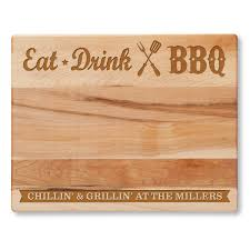 cutting board personalized eat drink bbq personalized cutting board personalized planet