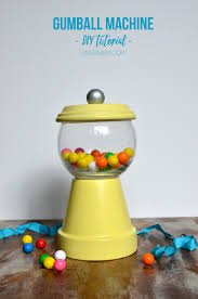 Fish Home Decor Diy Gumball Machine Out Of Clay Pots And Fish Bowl A Diy