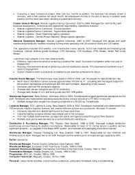 Warehouse Distribution Resume Mike Stay Resume Extended