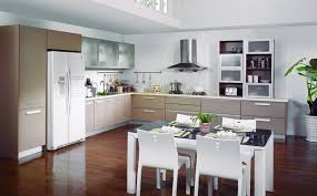 Dining Room With Kitchen Designs Kitchen White Design Ideas Decobizz Contemporary Decorate Remodels