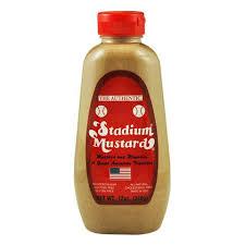 stadium mustard authentic stadium mustard 1 gallon bottle shopatdean