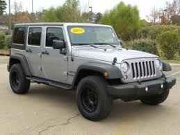 Used Jeep Wrangler Unlimited Used Jeep Wrangler Unlimited For Sale Near Me Cars