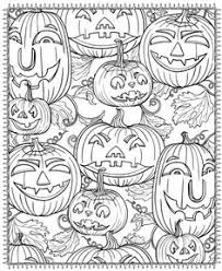 scenes horror stories dover publications coloring