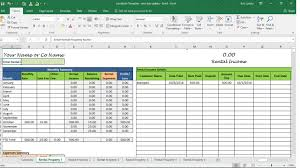 Landlord Spreadsheet Rent Calculator Landlord Template Rental Property Profit And Loss