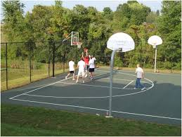 Backyard Tennis Courts Backyards Mesmerizing Backyard Tennis Courts 10 Basketball Court