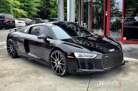 audi r8 modified audi r8 with 20in savini bm12 wheels exclusively from butler tires