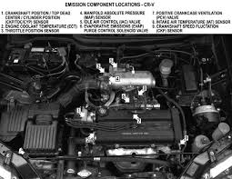 honda crv emissions repair guides components location components location