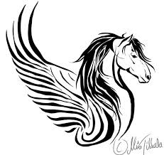 Horse Tattoo Ideas Horse Tattoo Ii By Demondes Pegasus Pinterest Horse Tattoo