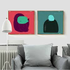 online shop frog and bird minimalist simple modern abstract