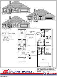 Dutch Colonial Floor Plans Colonial Oaks Adams Homes