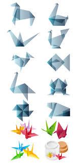 Origami Illustrator - 折り紙 折り鶴の無料イラスト 和物 無料 イラスト