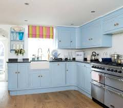 White And Blue Kitchen Cabinets Light Blue And White Kitchen Ideas Walls Dark Cabinets