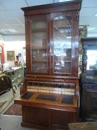 large mahogany victorian cylinder bureau bookcase antiques atlas