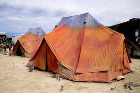 desert tent this is black rock city cing in style or not at black rock city