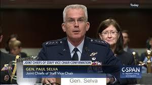 air force general paul selva testifies reappointment hearing c