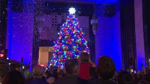 Christmas Tree Made Of Christmas Lights - durham museum christmas tree