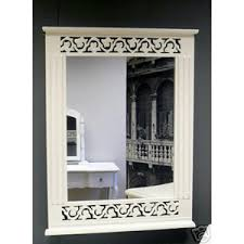 white shabby chic french style dressing table and stool melody