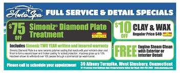 Steam Clean Car Interior Price Ct Auto Spa Farmington Valley U0027s Newest Car Wash And Detailing Center
