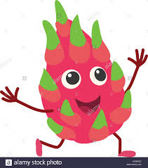 dragon fruit icon cartoon style stock vector art u0026 illustration