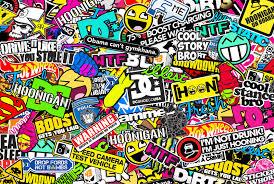 hoonigan cars wallpaper hoonigan sticker bombing by bora888 on deviantart