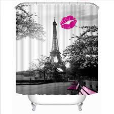 Eiffel Tower Window Curtains by Fabric Bathroom Curtains Picture More Detailed Picture About