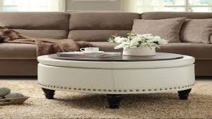 Round Coffee Table With Storage Ottomans Coffee Table Astonishing Round Ottoman Coffee Table Small Round