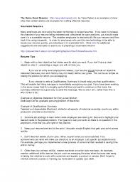 Summary Of Skills Resume Example by The Awesome Qualifications Summary Resume Example Resume Format Web