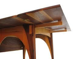 custom dining table leaf hardware drop covers locks oak extension