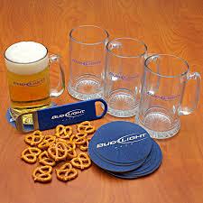 Old Fashioned Gift Set Bud Light 20 Piece Beer Mug Gift Set