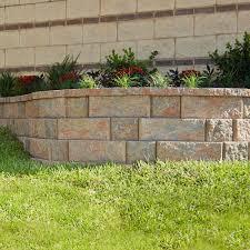 ideas cinder block home depot brick retaining wall home depot