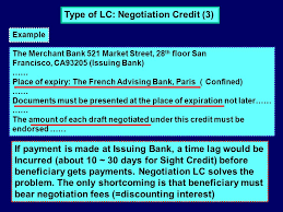 Letter Of Credit Validity letter of credit buyer issuing bank why use letter of credit