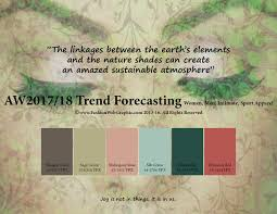Aw2017 2018 Trend Forecasting On Pantone Canvas Gallery   autumn winter 2017 2018 trend forecasting is a trend color guide