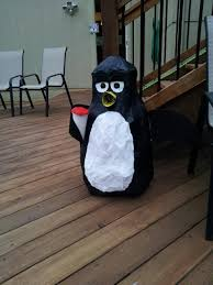 paper mache wheezy penguin toy story movie party
