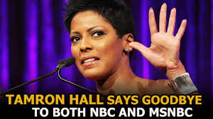 tamron hall leaving nbc tamron hall leave today show where is