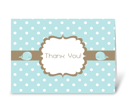 baby shower cards thank you baby shower card send this greeting card designed by