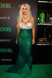 halloween party new york city 2012 kim kardashian dresses up as a mermaid and kanye west attend a