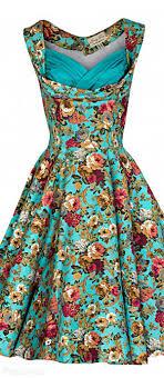Lindy Bop      Ophelia      Vintage          s Garden Party Dress