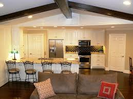 open kitchen floor plans with island design ideas house one story