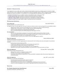 Resume Example For Office Assistant Administrative Assistant Resume Example Resume Sample