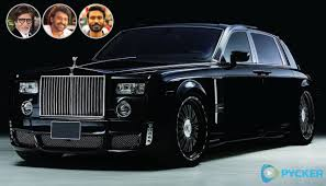 roll royce hyderabad indian actors who are proud owners of rolls royce sedans