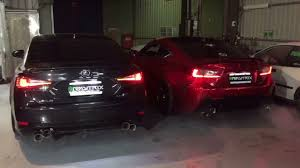 lexus rc or gs lexus gs f vs lexus rc f rev battle armytrix youtube